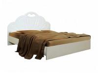 Кровать Белая ночь 1-5 (мдф)