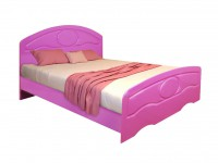 Кровать Белая ночь 10-1 (мдф)
