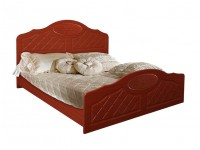 Кровать Белая ночь 12-1 (мдф)