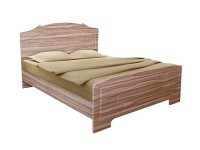 Кровать Белая ночь 6-1 (мдф)