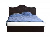 Кровать Белая ночь 7-5 (мдф)