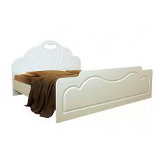 Кровать Белая ночь 1-1 (мдф)