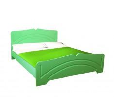 Кровать Белая ночь 11-3 (мдф)