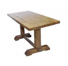 Стол Лесник-2000 (дерево, старение)