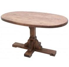 Стол овальный Медведь (дерево, старение)