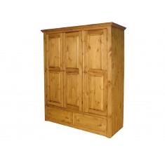 Шкаф распашной Armoir-3К (дерево)