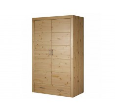 Шкаф распашной Брамминг комби-2К (дерево)