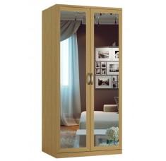 Шкаф распашной Классика 2.2з-ф (рамка рельеф, зеркала)