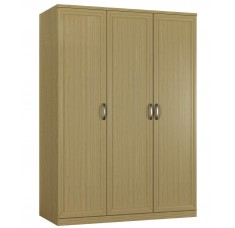 Шкаф распашной Классика 3-ф (рамка рельеф)