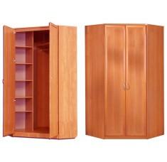 Угловой шкаф двухдверный 1250*1100/600*450 (рамка МДФ)