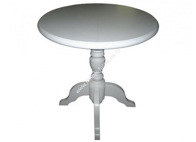 круглый песочный стол на одной ножке