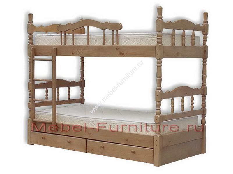 сборка кровати кадет