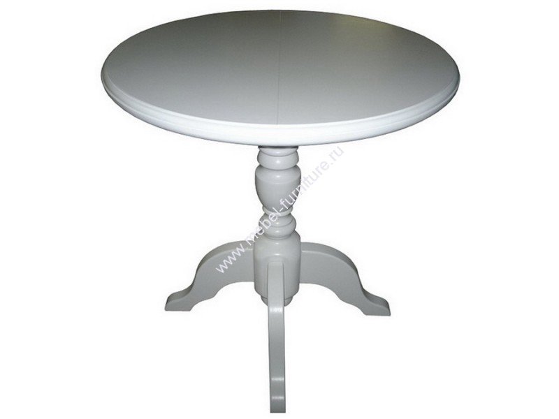 Круглый деревянный стол диаметр 80 см